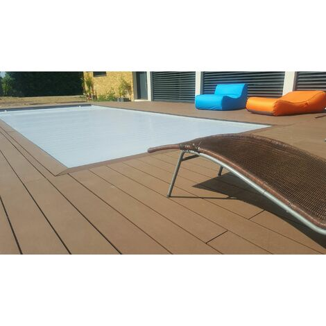 Kit complet 25 m² terrasse composite chocolat