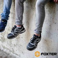 Foxter - Chaussures de sécurité   Hommes   Basses   Baskets de Travail   Légères et Respirantes   SafetyKey : Grand Confort   S1P SRC HRO 46 Gris - Gris