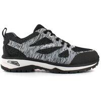 Foxter - Chaussures de sécurité | Hommes | Basses | Baskets de Travail | Légères et Respirantes | SafetyKey : Grand Confort | S1P SRC HRO 47 Gris - Gris