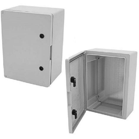 Coffret électrique étanche IP65 - 400 x 300 x 170mm livré avec plaque de fond