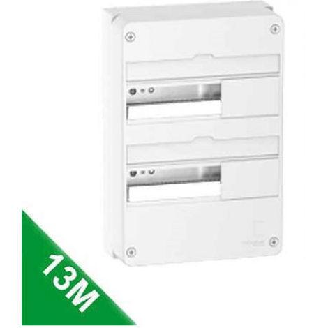 Tableau électrique 13 Modules 2 Rangées Schneider R9H13402