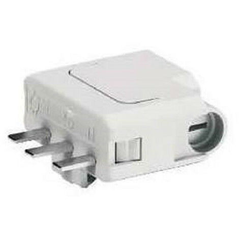 Fiche DCL 2P+T - 6A pour connexion luminaire - ALB 68005 Schneider