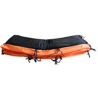 Coussin de Protection Orange pour GREADEN Trampoline FREESTYLE Ø 8FT - 244cm, Haute qualité & Résistant aux intempéries
