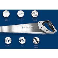 "Blaupunkt HS550 Hand Saw for Wood - Carbon Steel - 7tpi - 55cm (22"")"