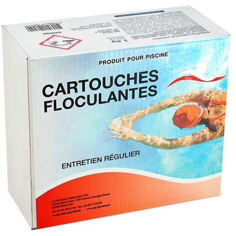 Floculant cartouches - 1 kg de Swimmer - Floculant, clarifiant