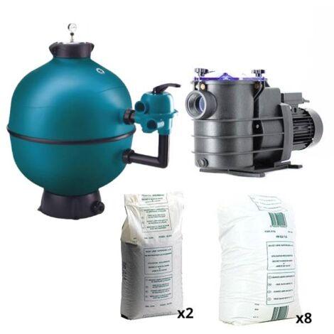 Pack filtration piscine - 10x5 m - Catégorie Kit construction piscine