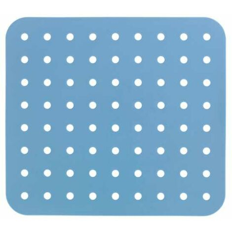 Spülbeckeneinlage Spülbeckenmatte Spülmatte Einlage Spülbecken Matte Eckig blau