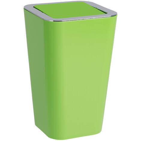 WENKO Kosmetik Eimer Candy green 6 L Schwingdeckel Müll Abfall Bad WC Küche
