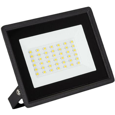 Foco Proyector LED 30W 110lm/W Solid Blanco Frío 6000K   - Blanco Frío 6000K