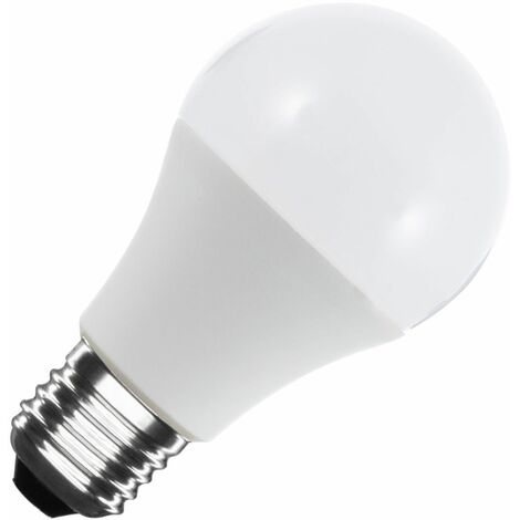 Bombilla LED E27 Casquillo Gordo A60 12V DC 120º 6W Blanco Cálido 3000K   - Blanco Cálido 3000K