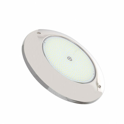 Foco Piscina LED Superficie 6000K 12V AC/DC Acero Inoxidable 35W Blanco Frío 6000K   - Blanc Froid 6000K