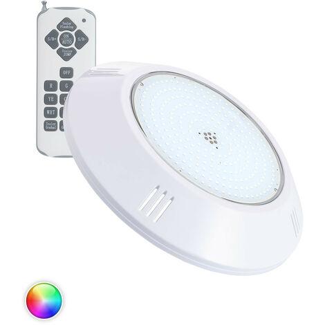 Foco Piscina LED Superficie RGB 12V AC 20W RGB   - RGB
