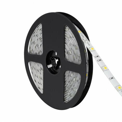 Tira LED 12V DC 30LED/m 5m IP65 Blanco Frío 6000K - 6500K   - Blanco Frío 6000K - 6500K