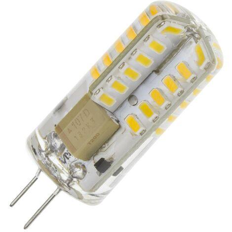 Bombilla LED G4 3W (220V) Blanco Cálido 2700K - 3200K .  - Blanco Cálido 2700K - 3200K
