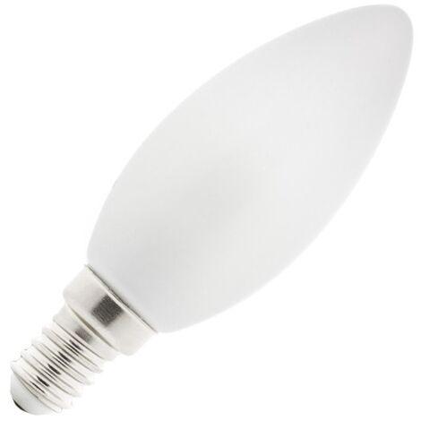 Bombilla LED E14 Casquillo Fino C35 Vela Glass 4W Blanco Cálido 2800K - 3200K   - Blanco Cálido 2800K - 3200K