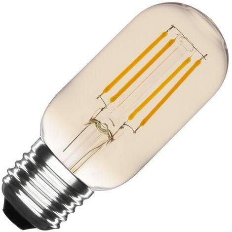 Bombilla LED E27 Casquillo Gordo Regulable Filamento Gold Tory T45 4W