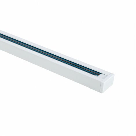 Carril Monofásico UltraPower para Focos LED 2 Metros  Blanco  -  Blanco