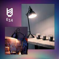 Bombilla LED E14 Casquillo Fino RGBW Regulable G45 4.5W RGBW - RGBW