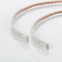 Tira LED Regulable 220V AC 60 LED/m Verde IP65 a Medida Corte cada 100 cm 3m -  3m