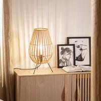 Lámpara de Mesa Bambu Atamach Natural -  Natural