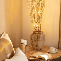 Ramas Decorativas LED Bambú Natural 1.2m Natural -  Natural