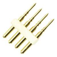 Conector Tipo L Tira LED RGB 220V AC Corte cada 25cm/100cm