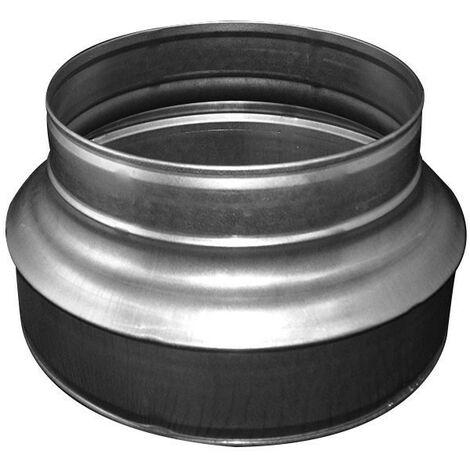 Réducteur de gaine alu 150 - 100 mm - gaine de ventilation