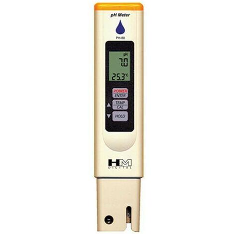 Testeur pH metre HM Digital Waterproof pH80