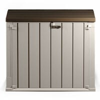 Toomax Extra Large 842L Plastic Outdoor Waterproof Shed-Garden Storage