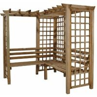 Forest Sunflower Arbour Seat (Sorrento)
