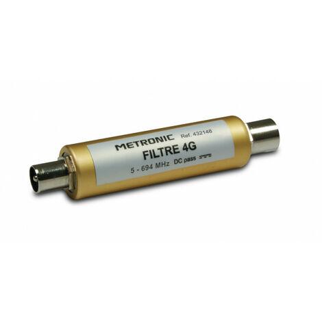 Filtre 4G 9,52 mm mâle/fem. 694 MHz