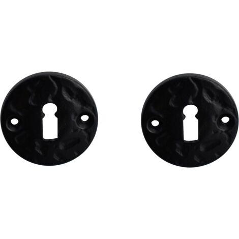 Rosace Mazarine noir clé