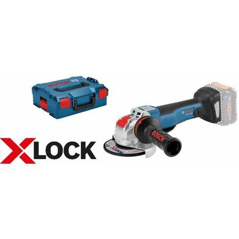 BOSCH X-LOCK meuleuse d'angle sans fil GWX 18V-10 dans L-Boxx   sans batterie ni chargeur