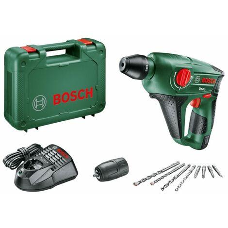 Bosch Perceuse ? percussion sans fil 12 volts Uneo avec 1x batterie 2,5 Ah