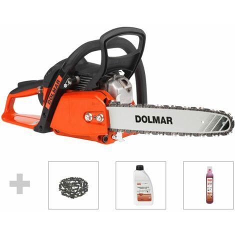 DOLMAR Tronçonneuse ? essence 35 cm 1,8 HP avec accessoires | PS32CA35X