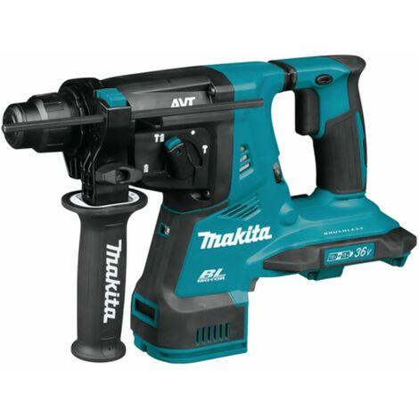 Makita 2 x 18 V SDS-Plus marteau perforateur-burineur sans fil DHR280ZJ | sans batterie ni chargeur