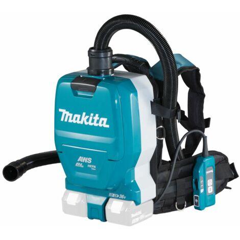 Makita 2x batteries 18V Aspirateur ? dos sans fil avec Bluetooth DVC265ZXU | sans batterie ni chargeur