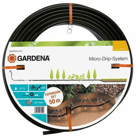 Gardena Tube goutte ? goutte ? syst?me Micro-Drip 13,7 mm sous terre. 1 6 l / h. 50 m Kit d'extension pour article n° 1389
