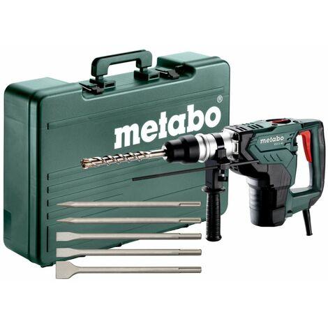 Metabo SDS-Max marteau combiné KH 5-40 avec jeu de burins dans un coffret