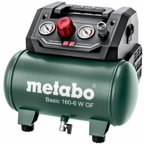 Metabo Compresseur d'air comprimé Basic 160-6 W OF