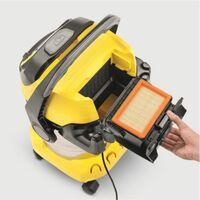 Kärcher Aspirateur polyvalent WD 5 Aspirateur eau et poussi?re Premium 1 100 watts   25 L