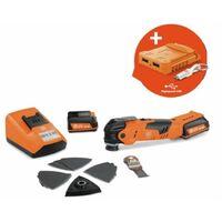 Fein Batterie 12V MultiTalent AFMT 12 QSL | 2x batteries 3,0 Ah + adaptateur USB