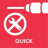 Metabo Perceuse-visseuse sans fil 18V BS 18 Quick MetaLoc | sans batterie ni chargeur