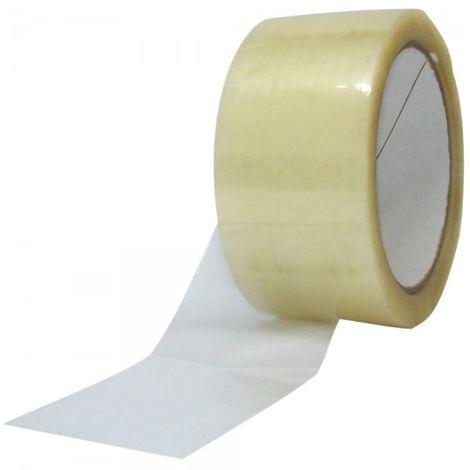 Nastro adesivo fragile 1 rotolo imballaggio 50x66 pacchi spedizioni scatole 1 pz