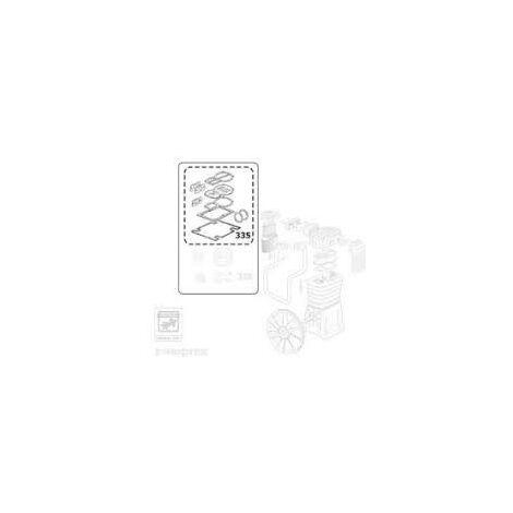 Compresseur air comprimé ABAC pièce détaché origine KIT JOINTS B4900