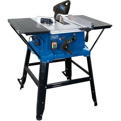 Scie circulaire sur table HS110 scheppach - 230V 50Hz 2000W - 254mm