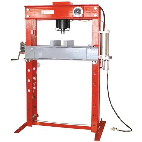 Presse hydraulique d'atelier WP45H Holzmann