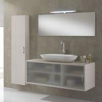 Mobile bagno himan sospeso 120 cm doppio lavabo - 70269
