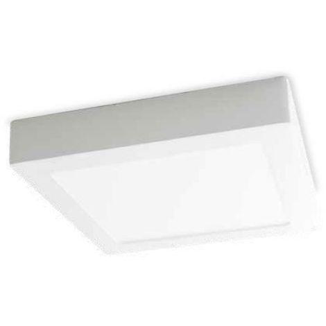 Downlight superficie cuadrado Venice 18W 4200K blanco GSC 201005015