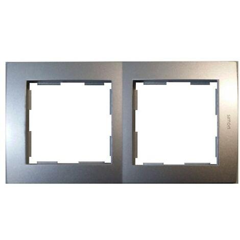 Marco 2 elementos aluminio Simon 28 28620-33